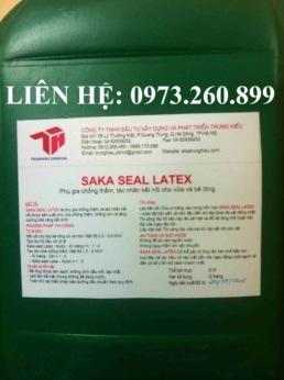 Saka seal Latex - Phụ gia chống thấm và tác nhân kết nối